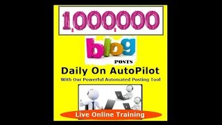 Locustware Organic Traffic Platform | Cliff Carrigan OTP How To Build 1,000,000 Posts Daily Training