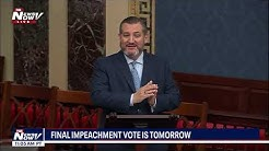 """""""SON OF A B*"""" PART 2: Ted Cruz repeats strong language on senate floor"""