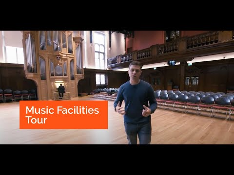 Tour of Music facilities at Newcastle University