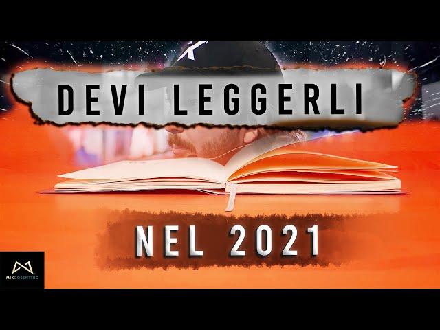 4 LIBRI CHE DEVI LEGGERE NEL 2021