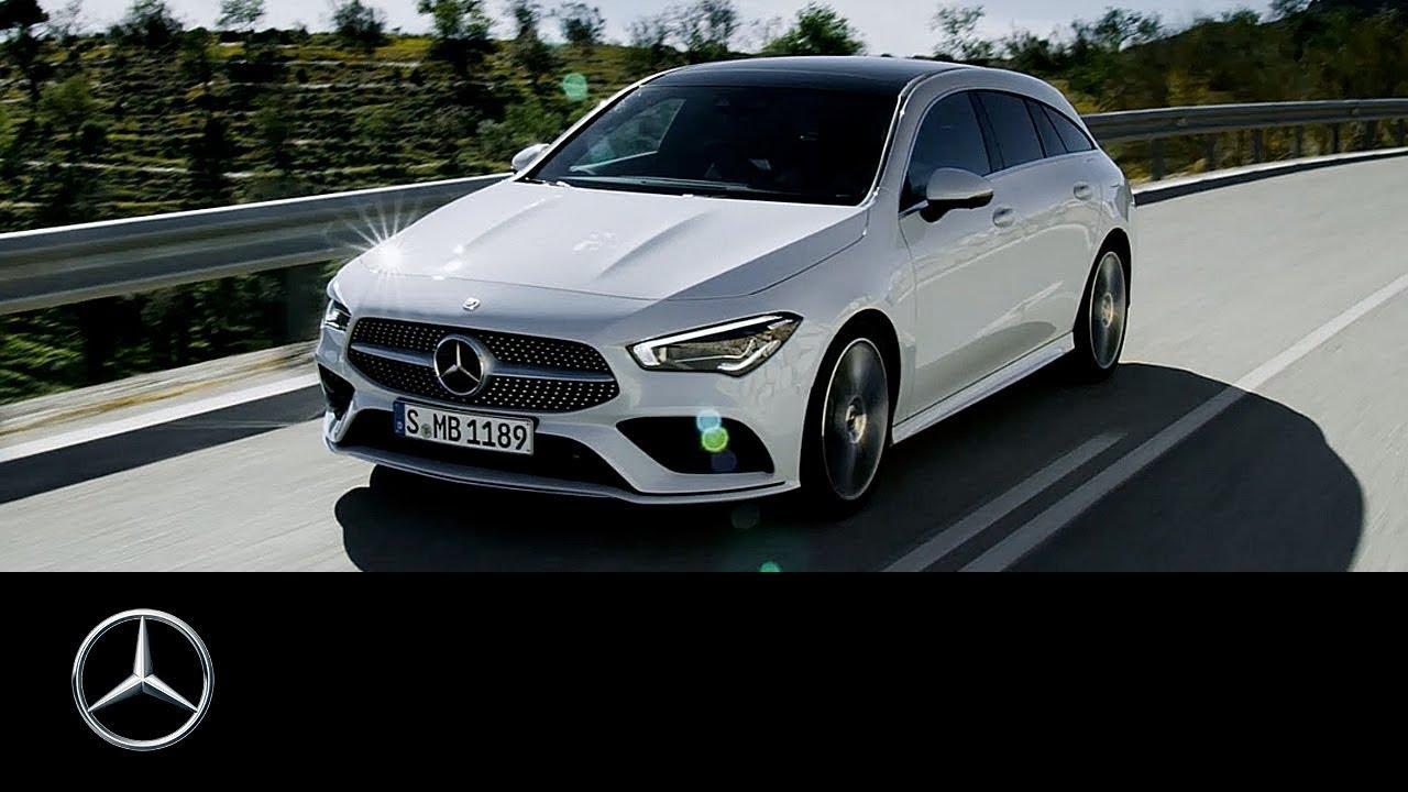 Mercedes-Benz CLA Shooting Brake (2019): World Premiere | Trailer