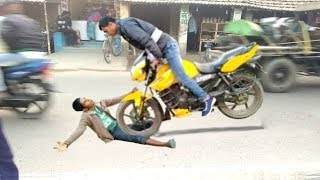 Best Funny Accident Videos Compilation of Bike || Indian accident Funny Videos 2019