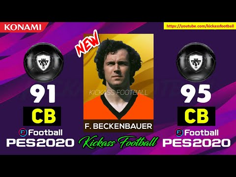PES 20 ALL 58 LEGENDS (NEW+OLD) MAX RATINGS🔥🔥