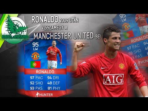 Ronaldo 2009 után visszamegy a Manchester United-be!
