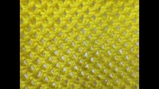 Ly handmade vn đan lượn sóng. Waves stitch.