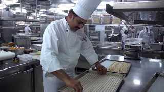 The Making Of Seabourn Breadsticks