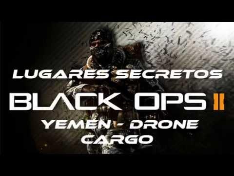 CoD: Black Ops 2 - Lugares Secretos Drone, Yemen, Cargo, Novo !
