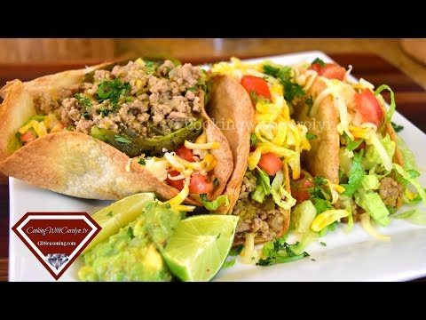 Salsa Verde Turkey Tacos- Back-To-School Recipe |Cooking With Carolyn