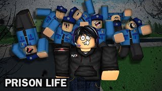 When you can only walk in Prison Life | Roblox