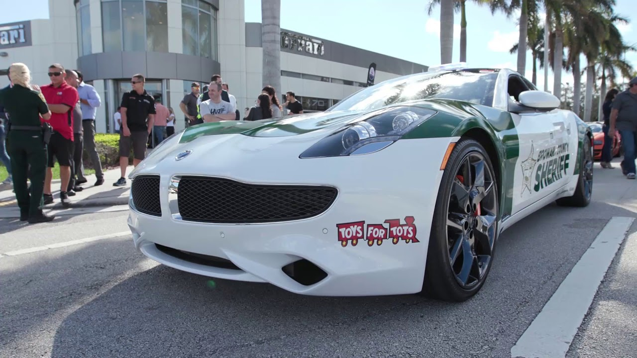 Exotic Car Toy Rally 2017 Benefitting Toys 4 Tots Youtube