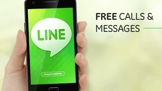 LINE App for Android Phones - ( How to Download , Install , Configure, Call and Chat with LINE ). screenshot 5