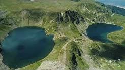 The Seven Rila Lakes, Bulgaria - 4К Aerial Filming   Седемте Рилски Езера с дрон