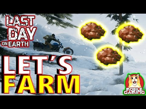 LETS FARM COPPER  - Last Day on Earth: Survival  - on iPhone and Android - (iOS Android) LIVE