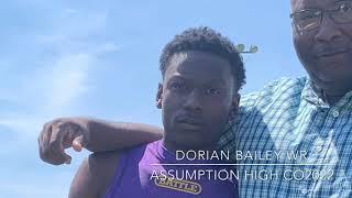 Dorian Bailey #25 2019 Spring Game