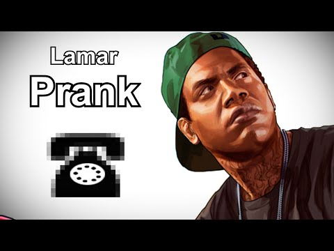 Lamar Calls The Old Couple - GTA V Prank Call