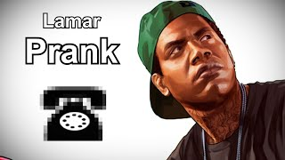 Lamar Calls the Old Couple - GTA V Prank Call