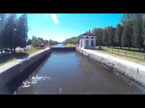 Erie Canal Lock 19 time lapse