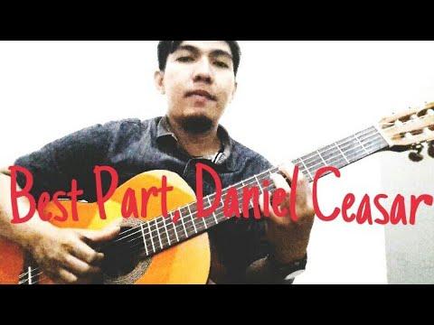 Best Part Daniel Ceasar feat H.E.R | Kunci Gitar| Intro Tutorial