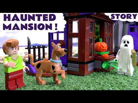 Scooby Doo LEGO Stop Motion Toy Story Game with Minions Thomas & Friends Mystery Haunted Mansion