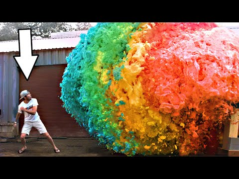 World's Largest Devil's Toothpaste Explosion - Mark Rober