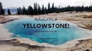 Yellowstone National Park - West Thumb Geyser Basin - Yellowstone Lake  🏞 🎞