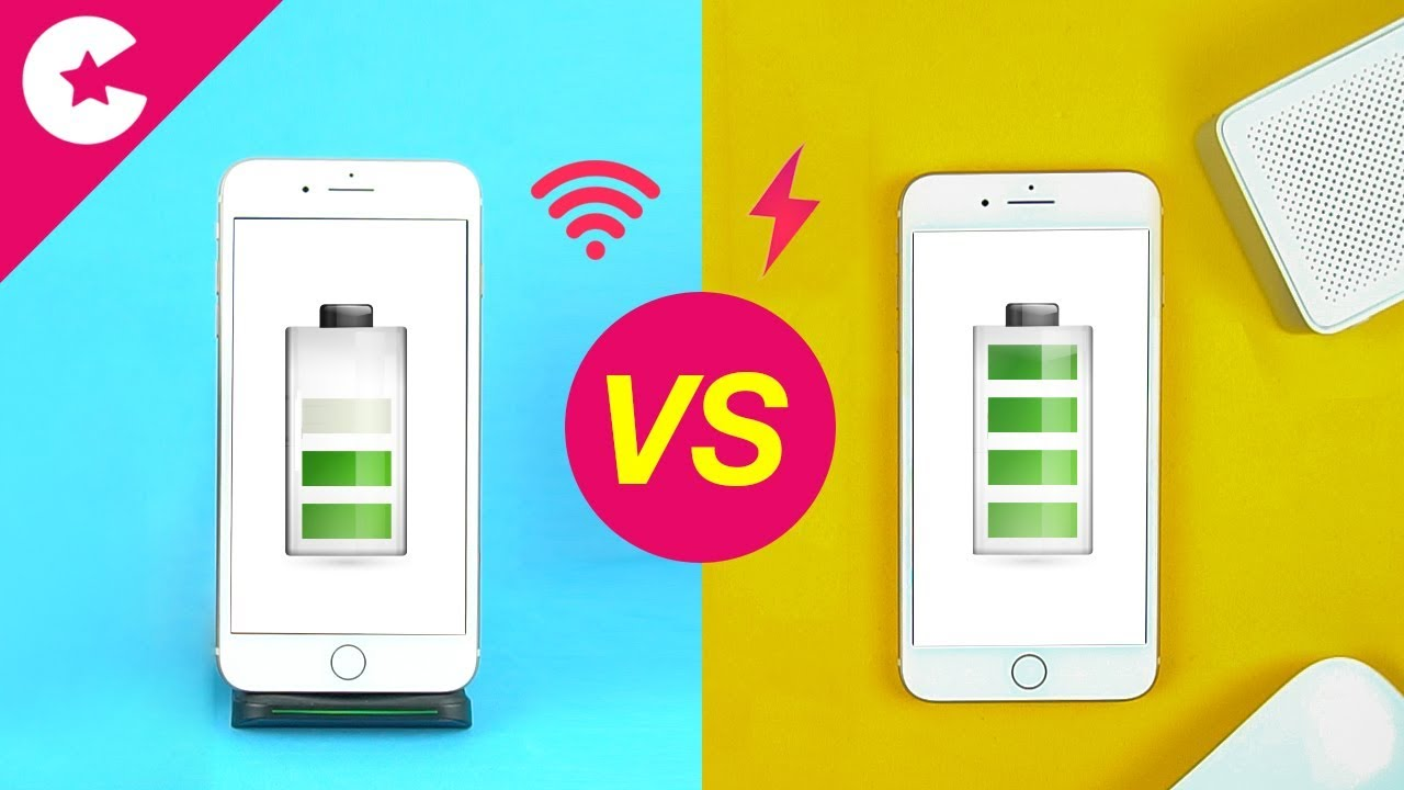 iphone 8 wired vs wireless charging speed comparison. Black Bedroom Furniture Sets. Home Design Ideas