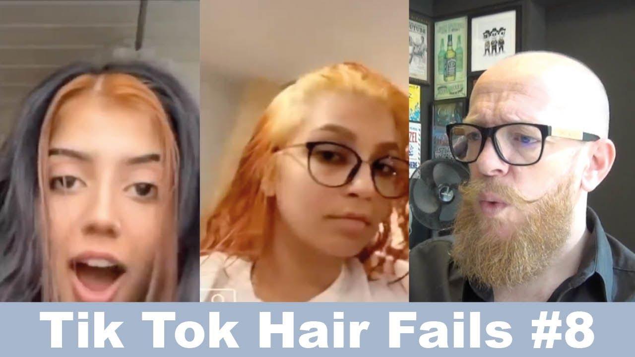 Tik Tok HAIR FAILS #8 - Hair Buddha Reaction video