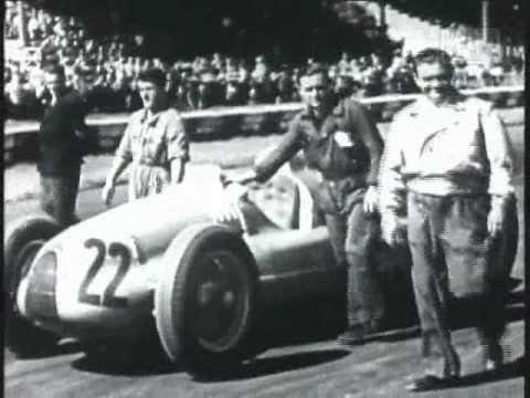 1938 Italian Grand Prix Footage