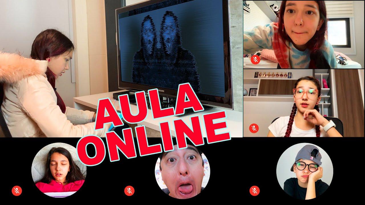 TIPOS DE ALUNOS NA AULA ONLINE !! DIA DE TRABALHO ESCOLAR | Luluca