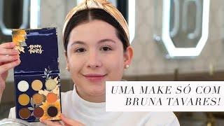 MAKE COMPLETA com BRUNA TAVARES | Brigitte Calegari