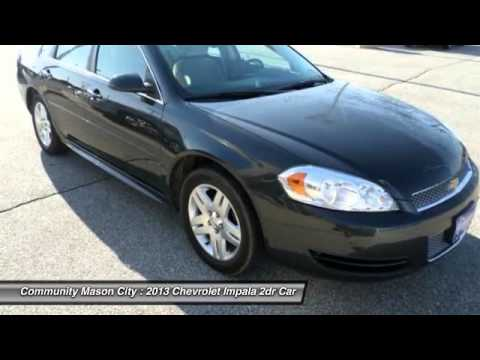2013 chevrolet impala mason city ia p16722 youtube for Community motors mason city