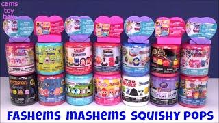 Mashems Fashems Squishy Pops Surprise Toys Opening Kids Fun Toy Review