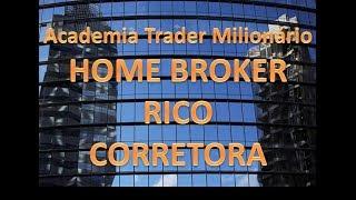 Como operar no Home Broker da corretora Rico?