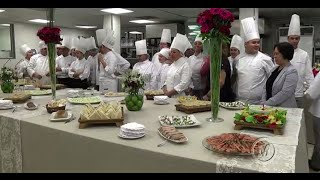 Matéria sobre curso de  Garde Manger- Mackenzie em Movimeneto