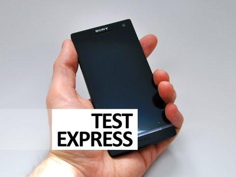 Test express du Sony Xperia S - par Test-Mobile.fr