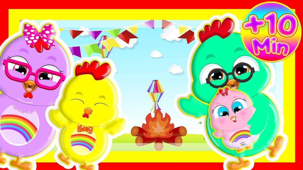 DVD Criança Feliz - Vídeos Oficiais Educativos - Galinha Baby Música Infantil