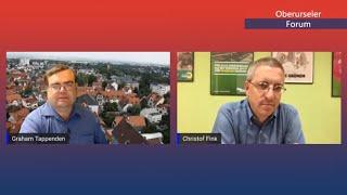Live Interview mit Bürgermeisterkandidat Christof Fink (Bündnis 90 / Die Grünen)