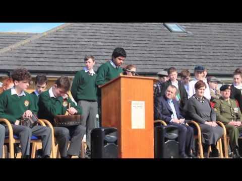 Proclamation Day 2016 in Ardscoil na Tríonóide, Athy, Co. Kildare