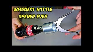 5 Weirdest Bottle Openers Ever Made!