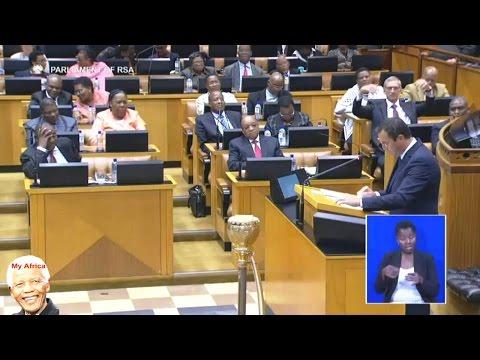 MUST WATCH - DA John Steenhuisen vs ANC Jacob Zuma