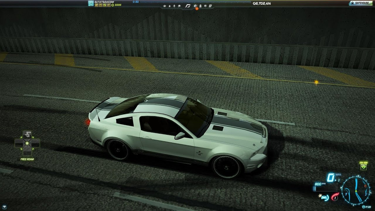 Need For Speed World Ford Shelby Gt500 Super Snake The Run Edition