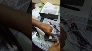 Zkteco f18 time attendance acces control full installation