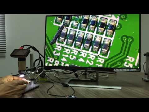 Elektronik Kart Telefon Tamiri ve Lehimleme İçin Usb  HD Dijital Mikroskop Andon