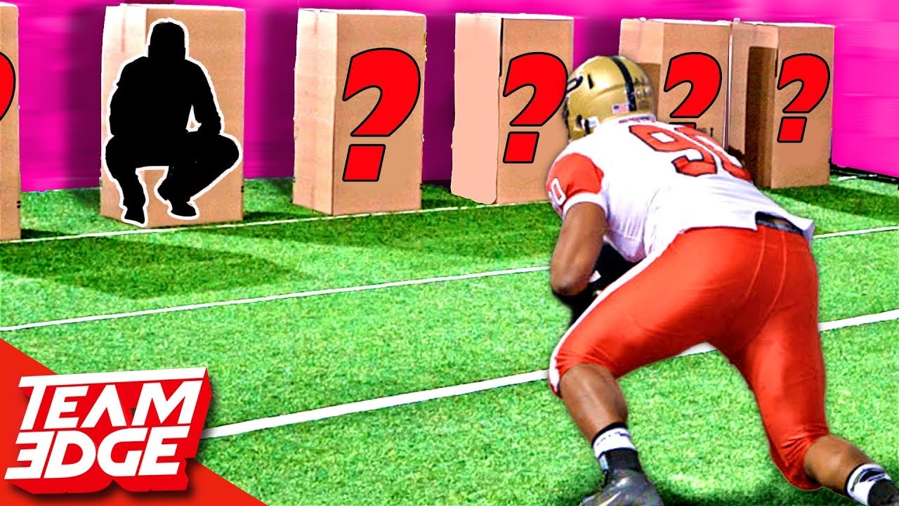 Tackle The Person In The Box Football Edition