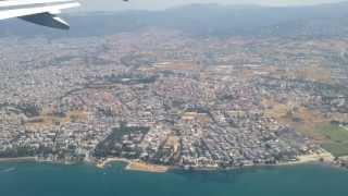 Взлёт из аэропорта. Салоники, Греция.(, 2013-07-04T20:05:22.000Z)