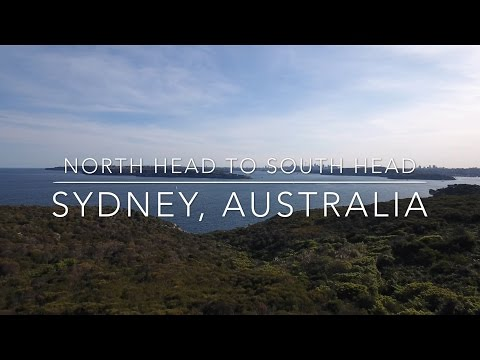Our World by Drone in 4K - North to South Head, Sydney, Australia