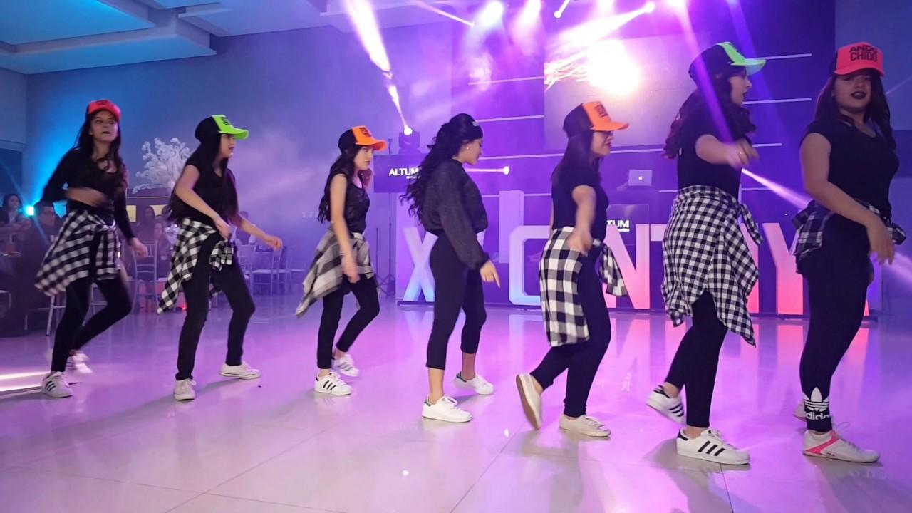 remix quinceañera con damas #1