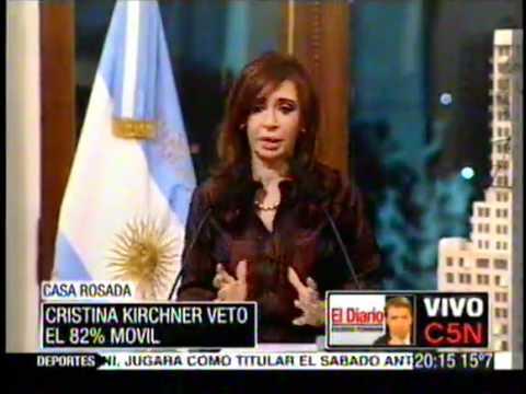 Con Cristina Todo estaba Bien.