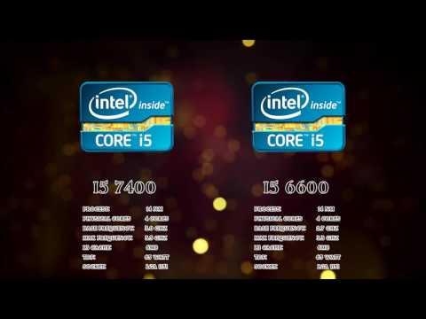 I5 6400 vs I5 7400 GTX1060 ` FPS BENCHMARK `