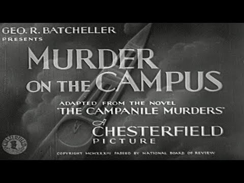 Murder on the Campus 1933  Orlando Eastwood Films